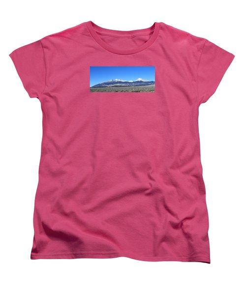 Sangre De Cristo Range Women's T-Shirt (Standard Cut) by Christopher Kirby