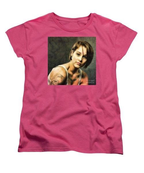 Sara  ... Women's T-Shirt (Standard Cut) by Chuck Caramella