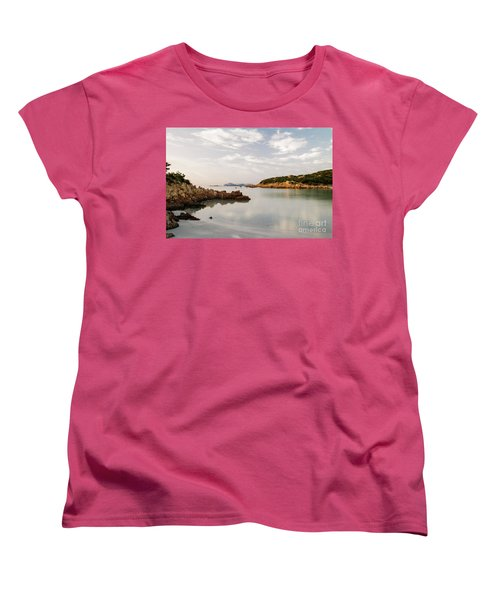 Women's T-Shirt (Standard Cut) featuring the photograph Sardinian Coast I by Yuri Santin