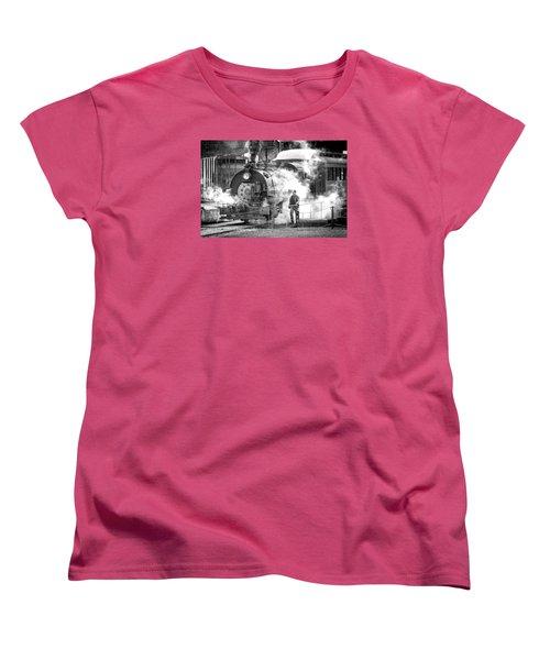 Savannah Central Steam Locomotive Women's T-Shirt (Standard Cut)