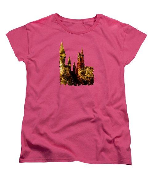 School Of Magic Women's T-Shirt (Standard Cut) by Anastasiya Malakhova