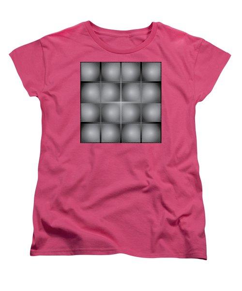 Scoopbox Wall Women's T-Shirt (Standard Cut) by Kevin McLaughlin