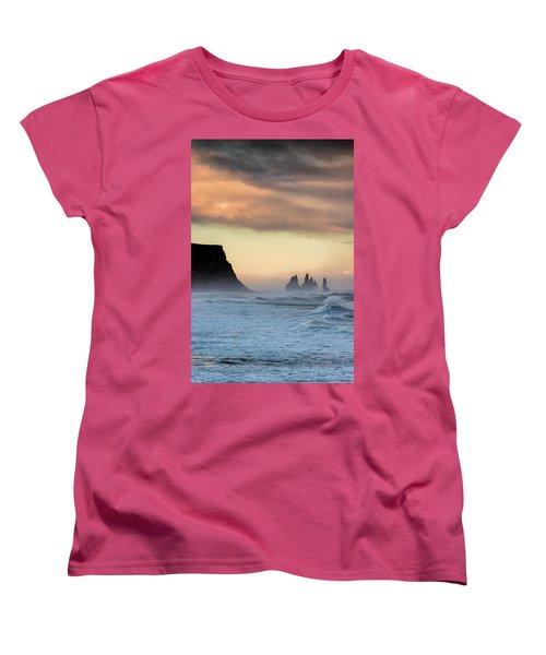 Sea Stacks Women's T-Shirt (Standard Cut) by Allen Biedrzycki