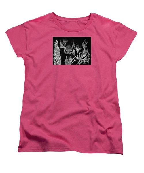 Seadragon Dreams Women's T-Shirt (Standard Cut) by Charles Cater