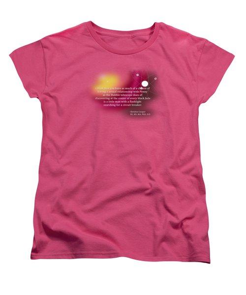 Searching For A Circuit Breaker Women's T-Shirt (Standard Cut) by Paulette B Wright