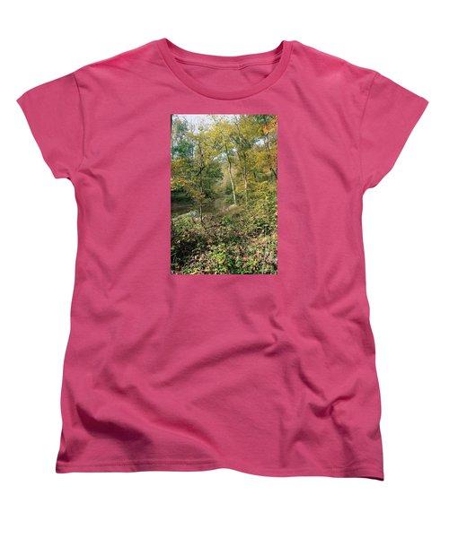 Women's T-Shirt (Standard Cut) featuring the photograph Season Of Change by John Rivera