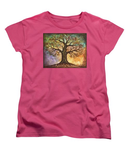 Seasons Of Life Women's T-Shirt (Standard Cut) by Agata Lindquist
