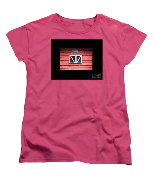 Women's T-Shirt (Standard Cut) featuring the photograph Season's Over by Laurinda Bowling