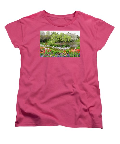Seeing Beauty In All Things Women's T-Shirt (Standard Cut) by James Steele