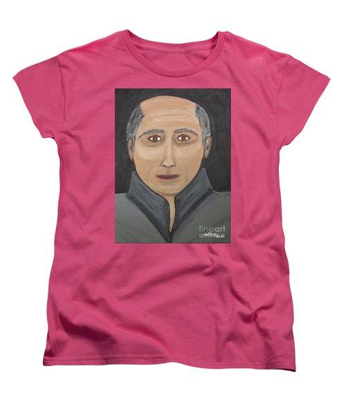 Women's T-Shirt (Standard Cut) featuring the painting Self by Jeffrey Koss