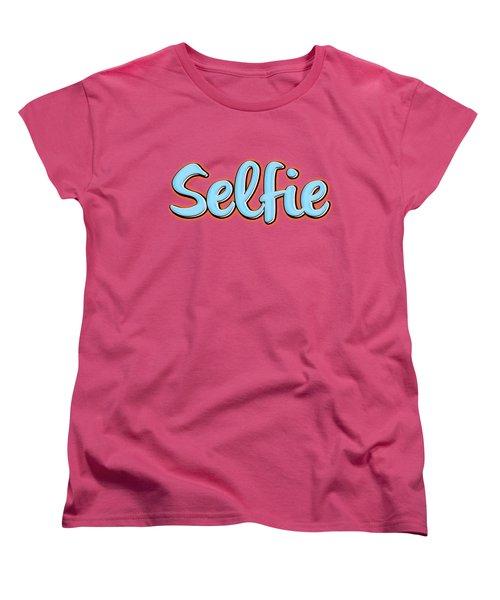 Selfie Tee Women's T-Shirt (Standard Cut) by Edward Fielding