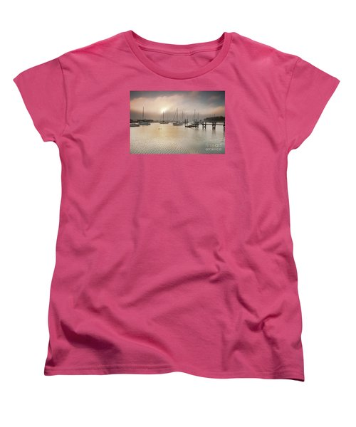 September Fog Women's T-Shirt (Standard Cut) by Butch Lombardi