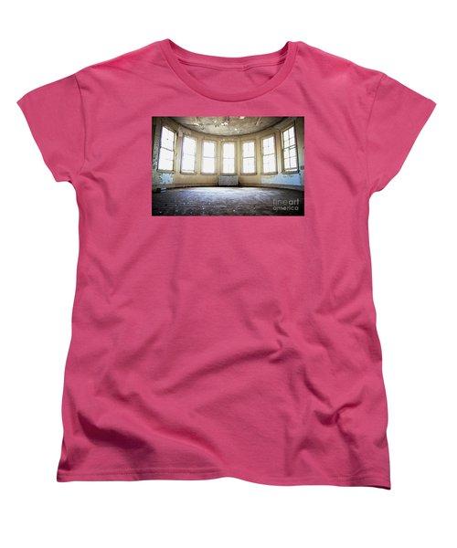Seven Windows Women's T-Shirt (Standard Cut) by Randall Cogle