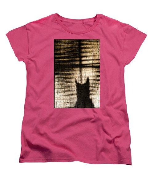 Shadow Cat Women's T-Shirt (Standard Cut)