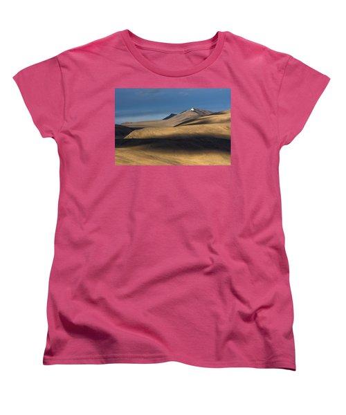 Shadows On Hills Women's T-Shirt (Standard Cut) by Hitendra SINKAR