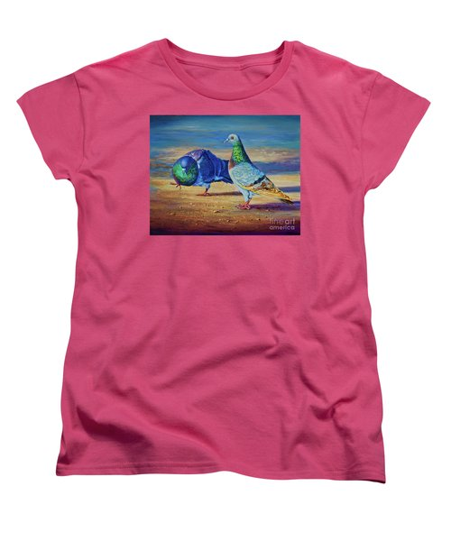 Shall We Dance? Women's T-Shirt (Standard Cut) by AnnaJo Vahle