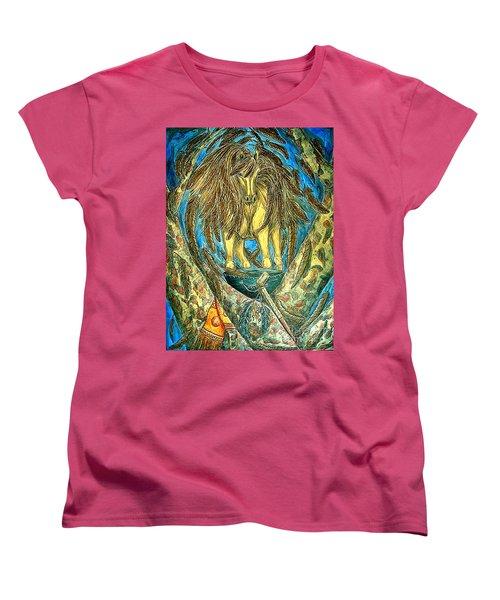 Shaman Spirit Women's T-Shirt (Standard Cut) by Kim Jones