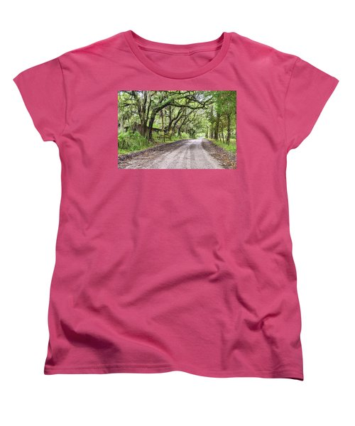 Sheep Farm On Witsell Rd Women's T-Shirt (Standard Cut) by Scott Hansen