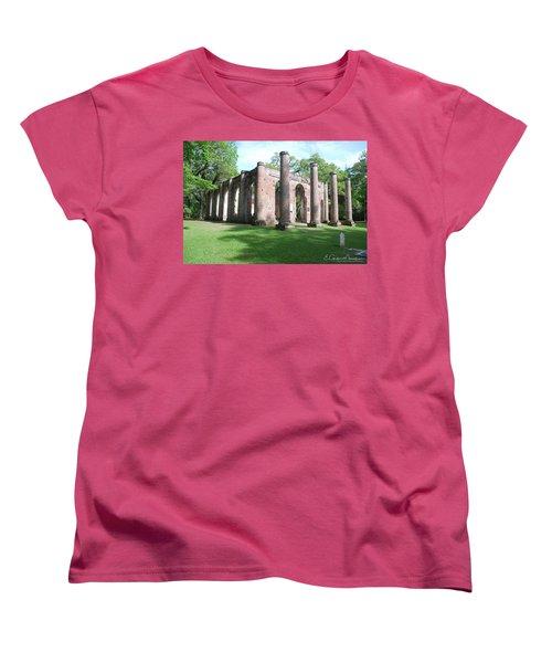 Sheldon Church 3 Women's T-Shirt (Standard Cut) by Gordon Mooneyhan