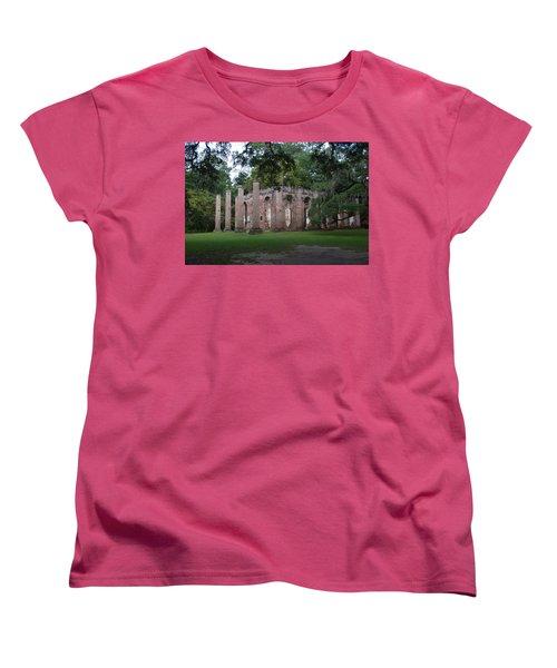 Sheldon Church 4 Women's T-Shirt (Standard Cut) by Gordon Mooneyhan