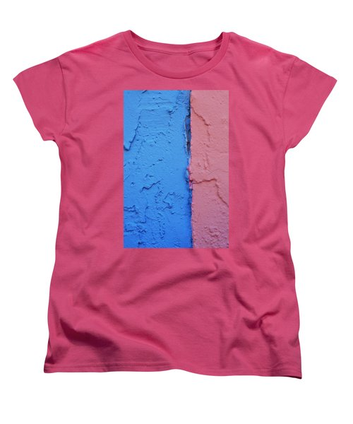 Sherbert Walls Women's T-Shirt (Standard Cut) by Toni Hopper
