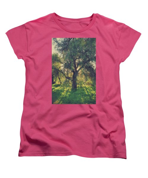 Women's T-Shirt (Standard Cut) featuring the photograph Shine Your Light by Laurie Search