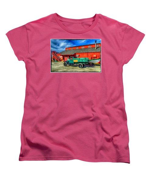Shipyard Work Truck Women's T-Shirt (Standard Cut)