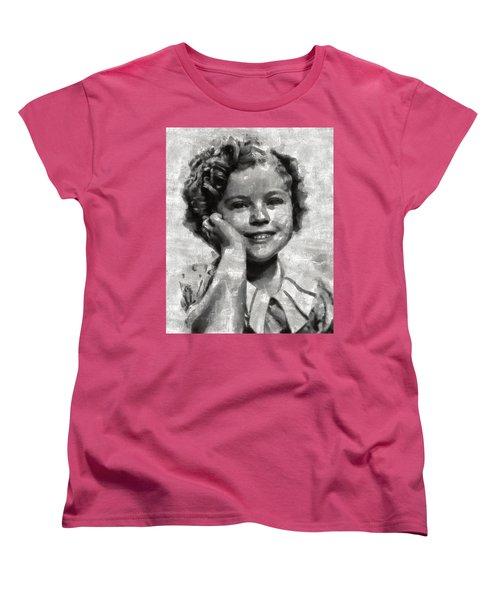 Shirley Temple By Mary Bassett Women's T-Shirt (Standard Cut) by Mary Bassett