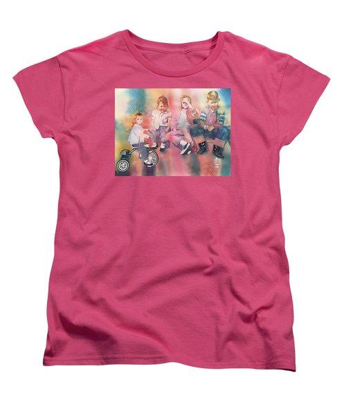 Siblings And Cousins, Circa 1950-1963 Women's T-Shirt (Standard Cut) by Tara Moorman