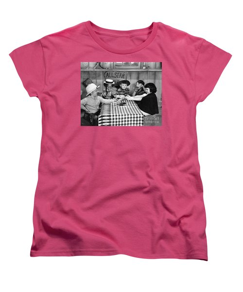 Silent Film: Little Rascals Women's T-Shirt (Standard Cut) by Granger