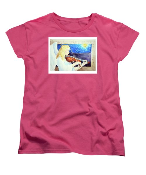 Silent Night Women's T-Shirt (Standard Cut)