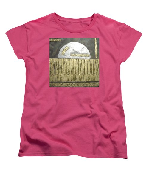 Silver Moon Women's T-Shirt (Standard Cut) by Bernard Goodman