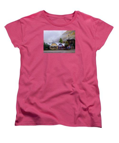 Silverton Back Street Women's T-Shirt (Standard Cut) by Laura Ragland