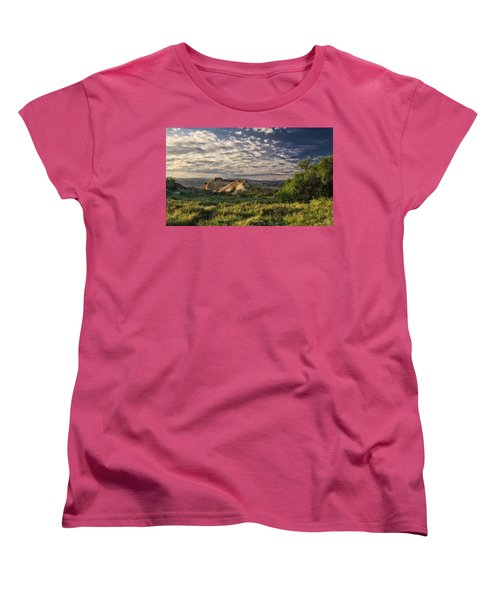 Simi Valley Overlook Women's T-Shirt (Standard Cut) by Endre Balogh