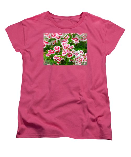 Simply Flowers Women's T-Shirt (Standard Cut) by Rand Herron