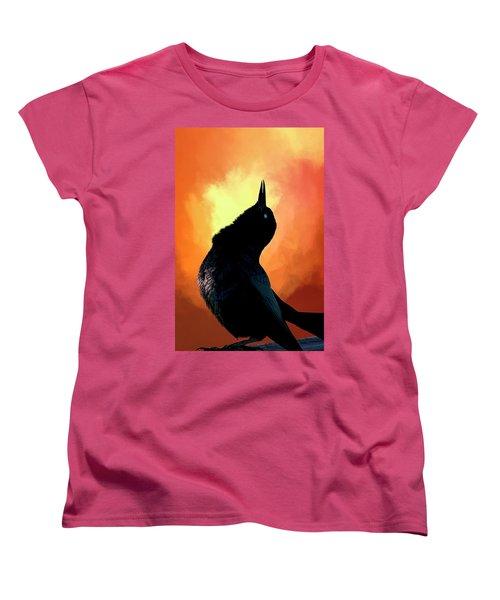 Singing  Women's T-Shirt (Standard Cut) by Cyndy Doty
