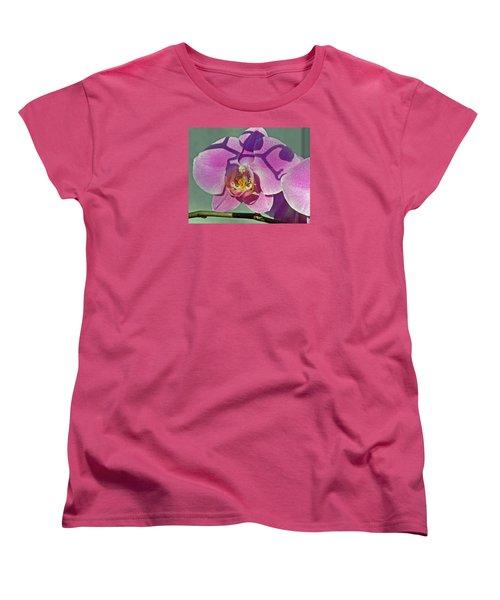 Women's T-Shirt (Standard Cut) featuring the photograph Singular Beauty by Lynda Lehmann