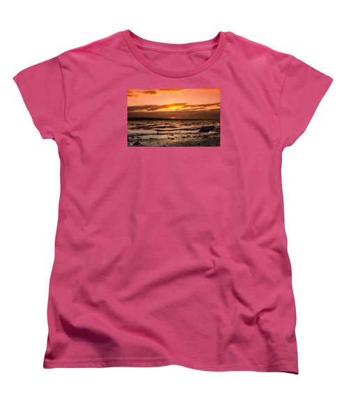 Skerries Women's T-Shirt (Standard Cut) by Martina Fagan