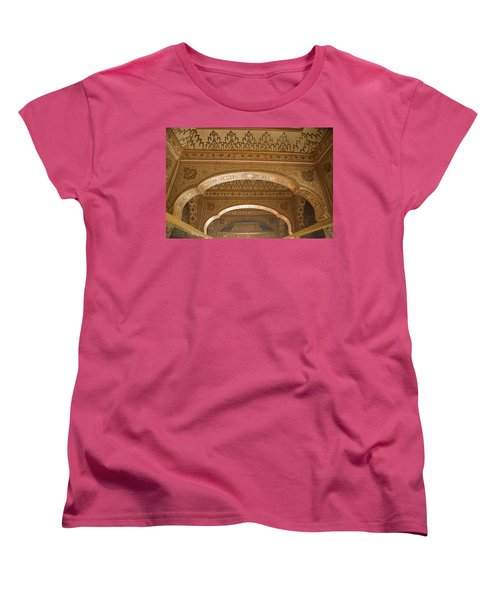 Skn 1248 The Miniature Art Women's T-Shirt (Standard Cut) by Sunil Kapadia