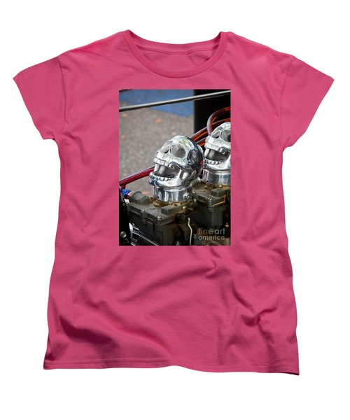 Women's T-Shirt (Standard Cut) featuring the photograph Skully by Chris Dutton