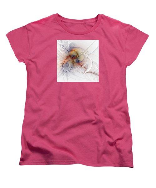 Women's T-Shirt (Standard Cut) featuring the digital art Sleeping Beauties by Karin Kuhlmann