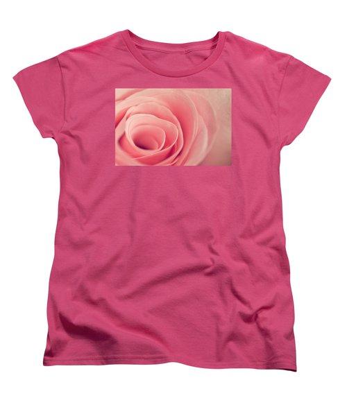Smell The Roses Women's T-Shirt (Standard Cut) by Yvette Van Teeffelen