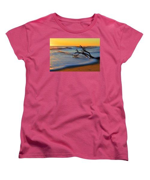 Smooth Move Women's T-Shirt (Standard Cut) by Dianne Cowen