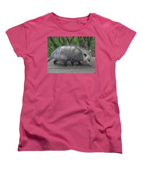 Sniffing Around Women's T-Shirt (Standard Cut) by Kym Backland