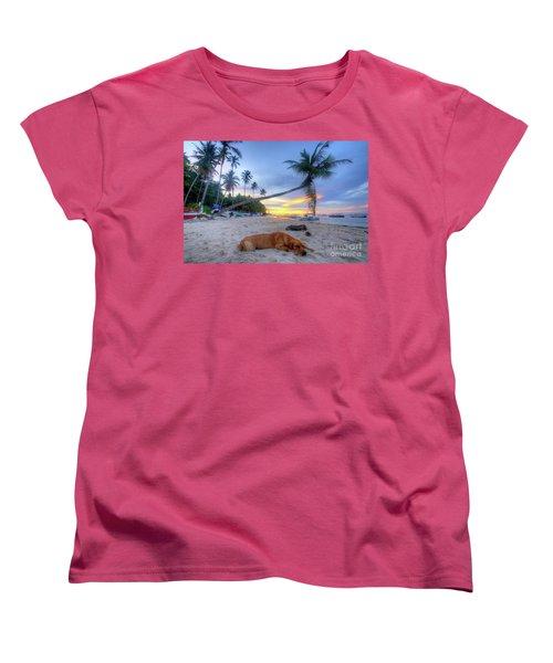 Women's T-Shirt (Standard Cut) featuring the photograph Snooze by Yhun Suarez