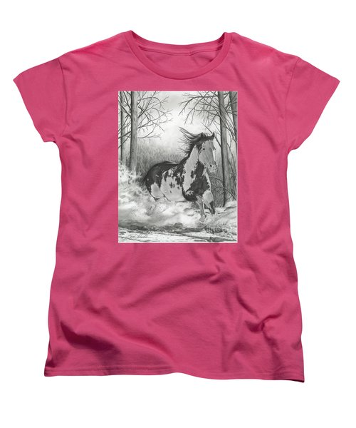 Snow Driftin' Women's T-Shirt (Standard Cut)