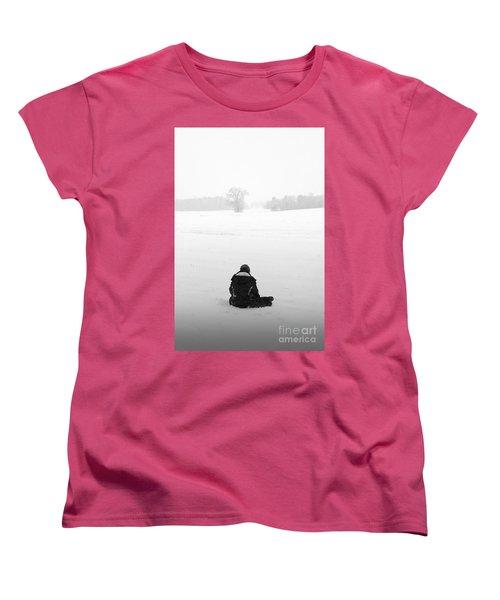 Women's T-Shirt (Standard Cut) featuring the photograph Snow Wonder by Brian Jones