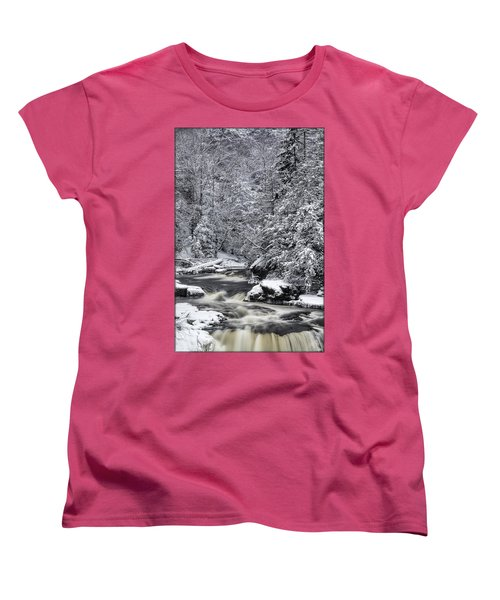Snowy Blackwater Women's T-Shirt (Standard Cut)