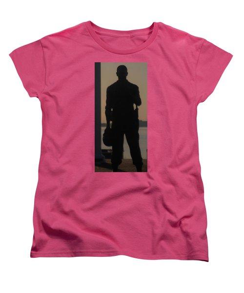 Women's T-Shirt (Standard Cut) featuring the photograph So Help Me God by John Glass