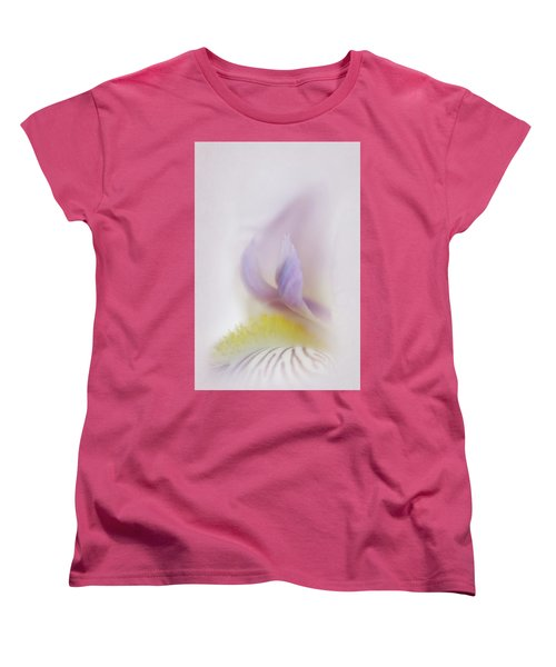 Women's T-Shirt (Standard Cut) featuring the photograph Soft And Delicate Iris by David and Carol Kelly